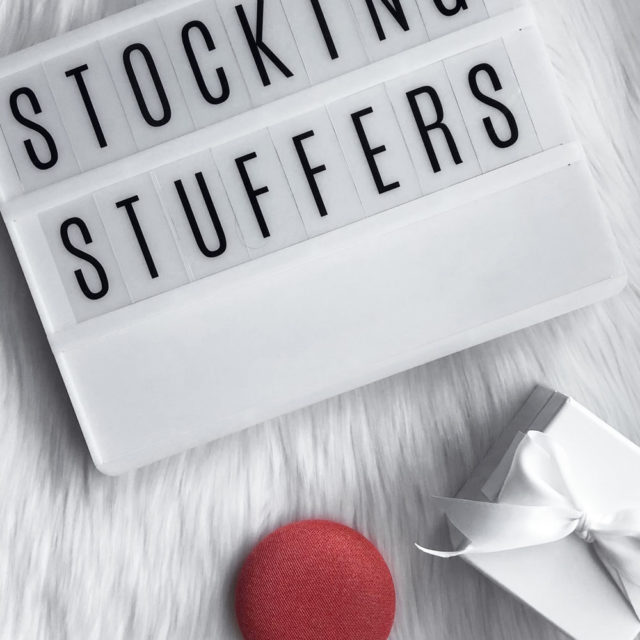 Stocking Stuffers  |  2017 Holiday Gift Guide