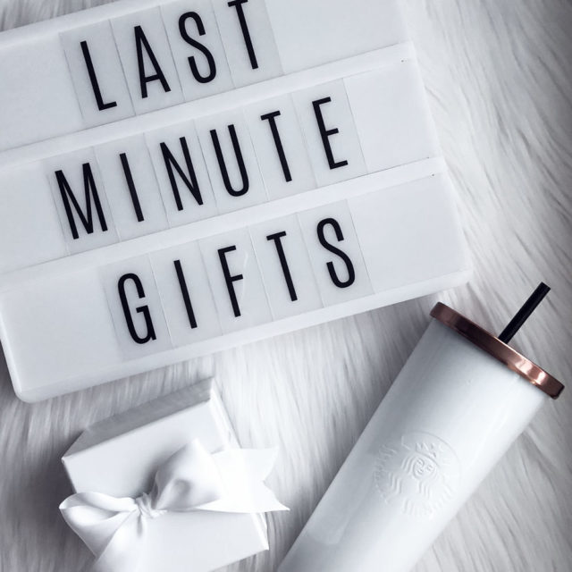 Last Minute Gifts  |  2017 Holiday Gift Guide